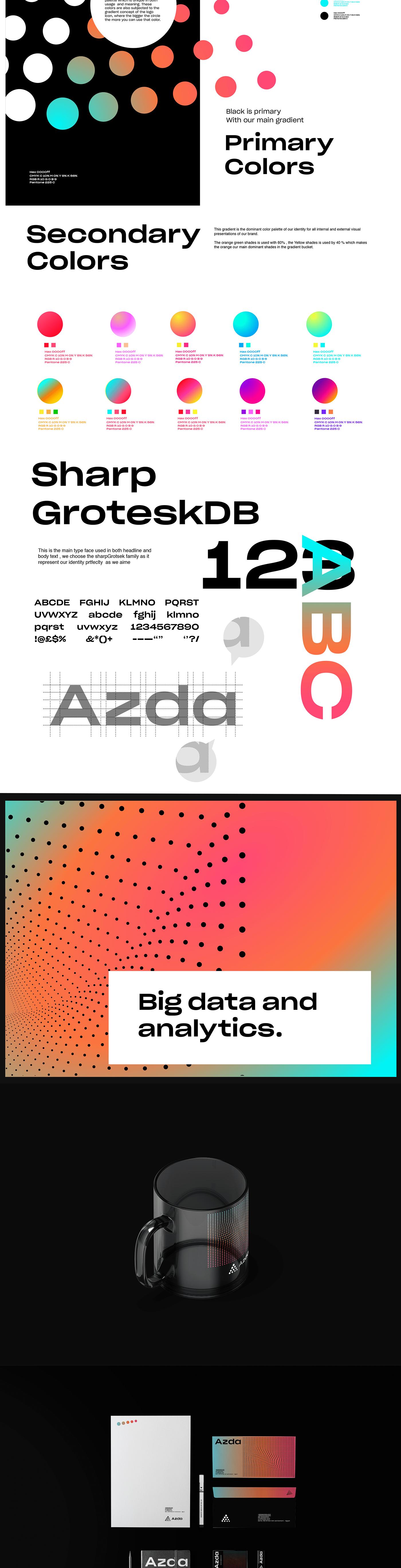 branding  data analytics Big Data Data logo brand