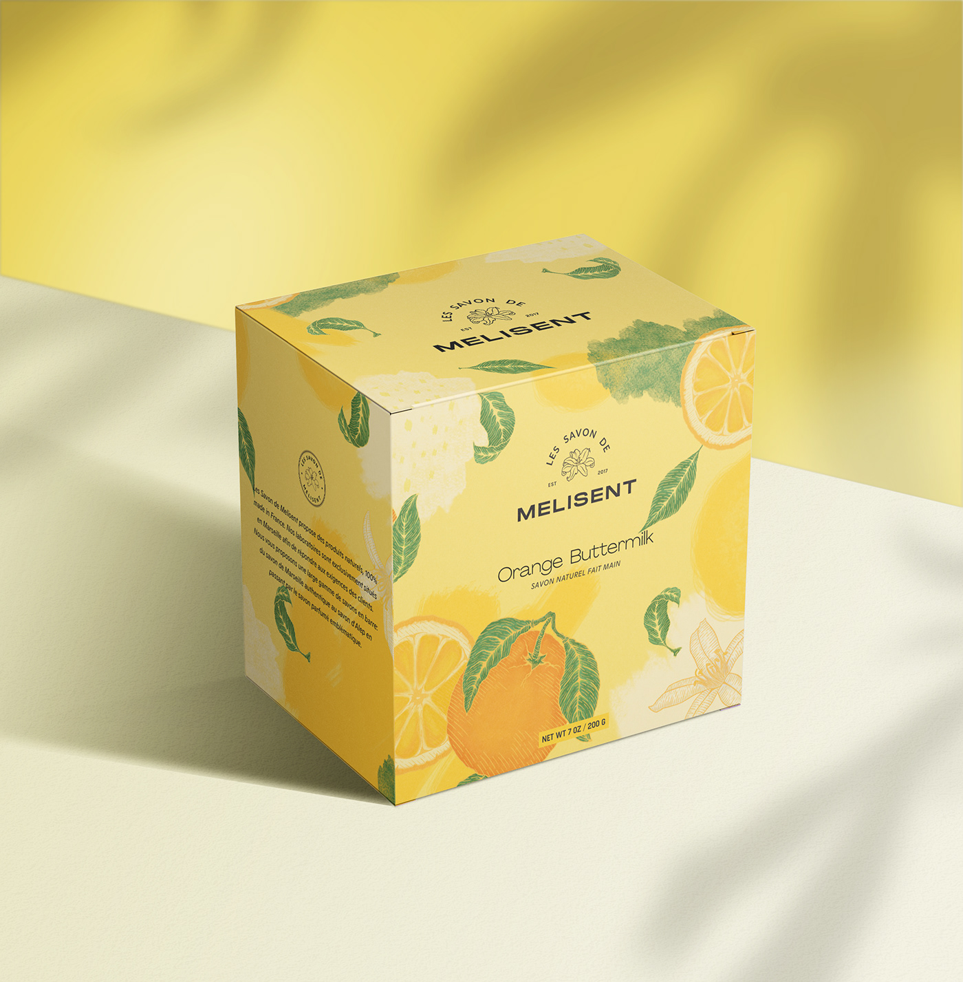 branding  color design natural organic Packaging product savon soap soft