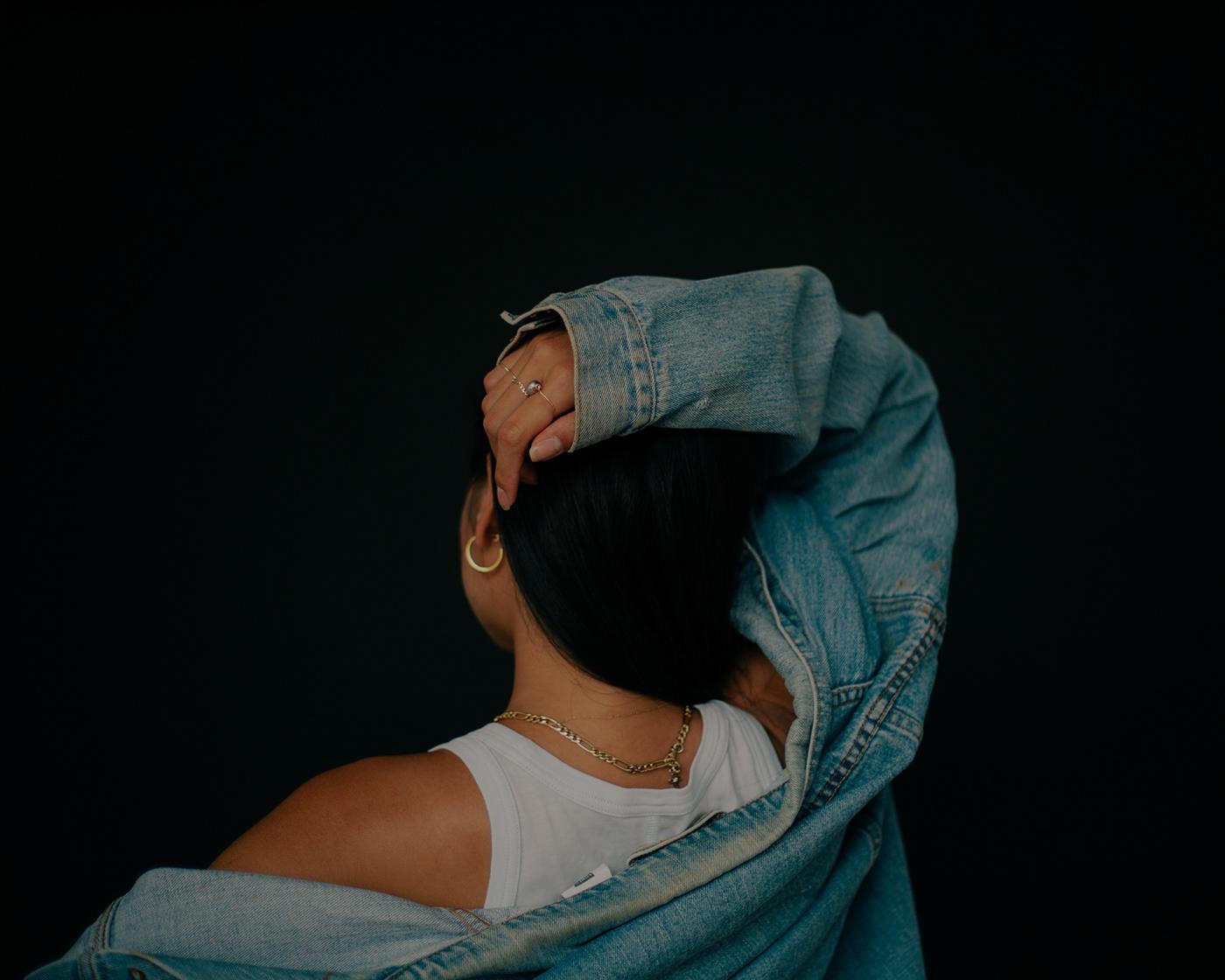 editorial photography emotion Emotional Female Model model studio Studio Photography