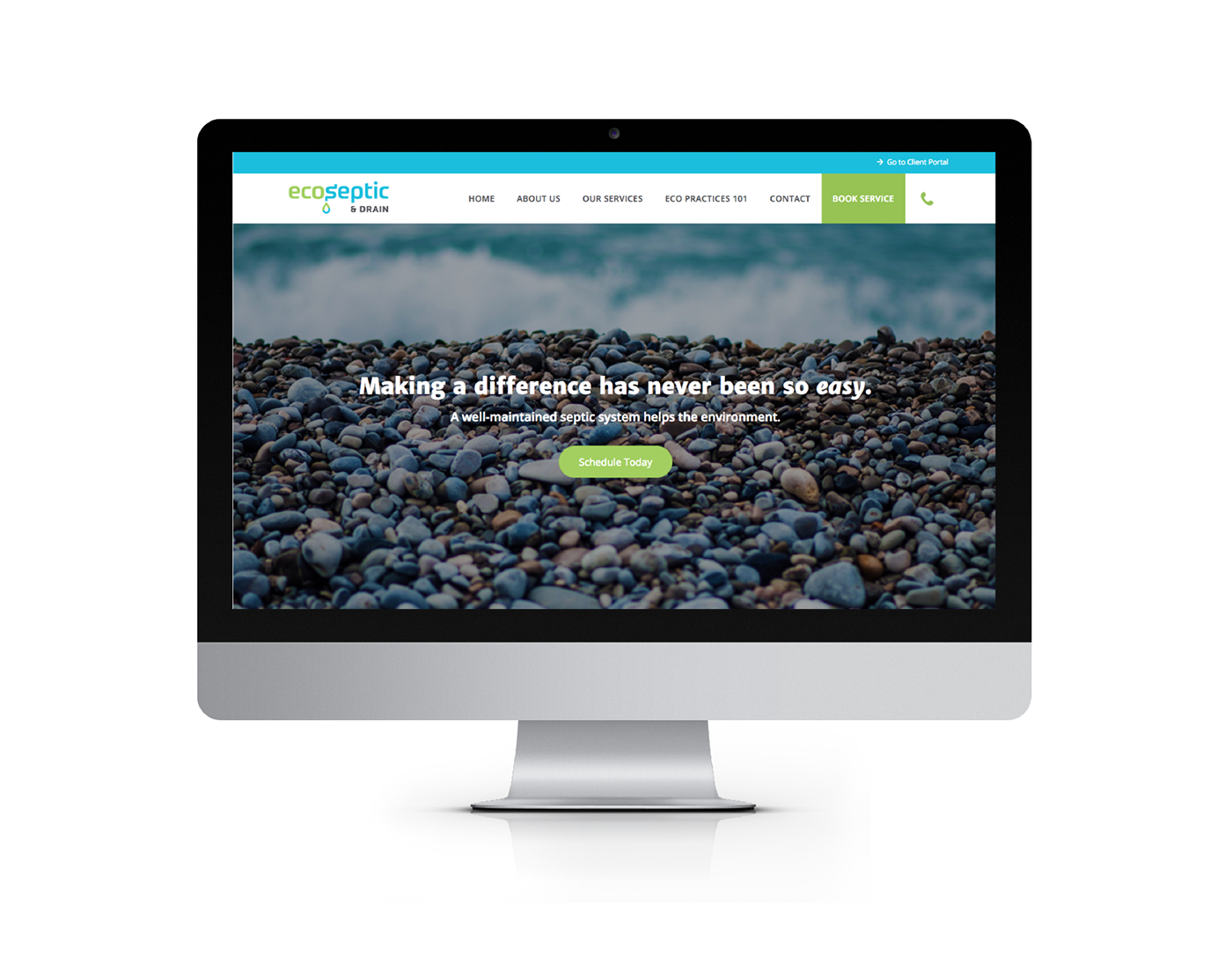 Wordpress Website for Eco-Friendly Septic Service