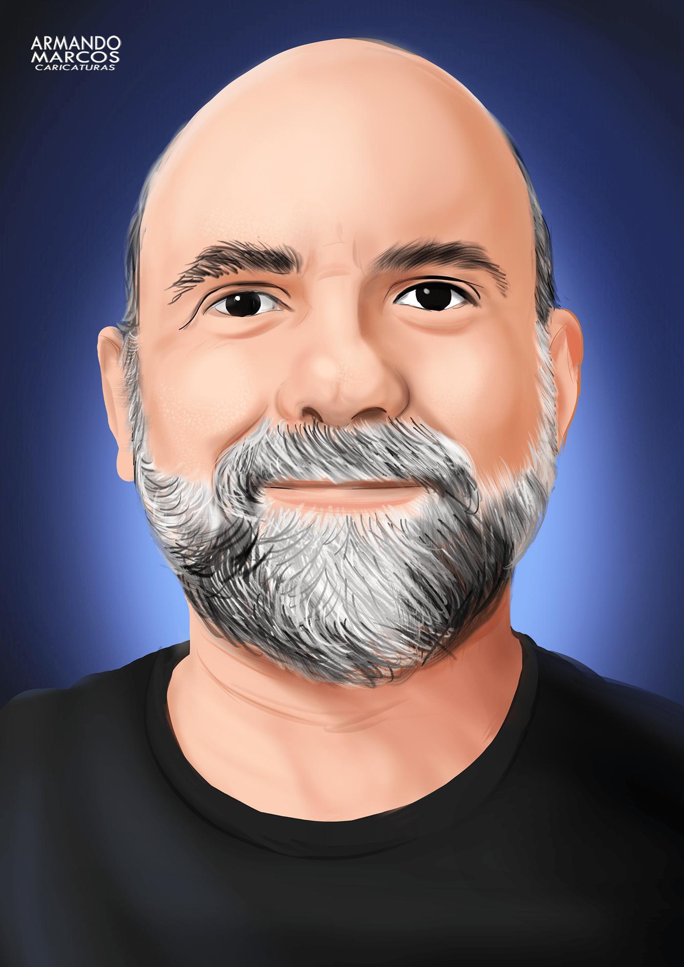 #historianaocontada artdigital caricature   digitalart digitalportrait ilustration paulorezzutti