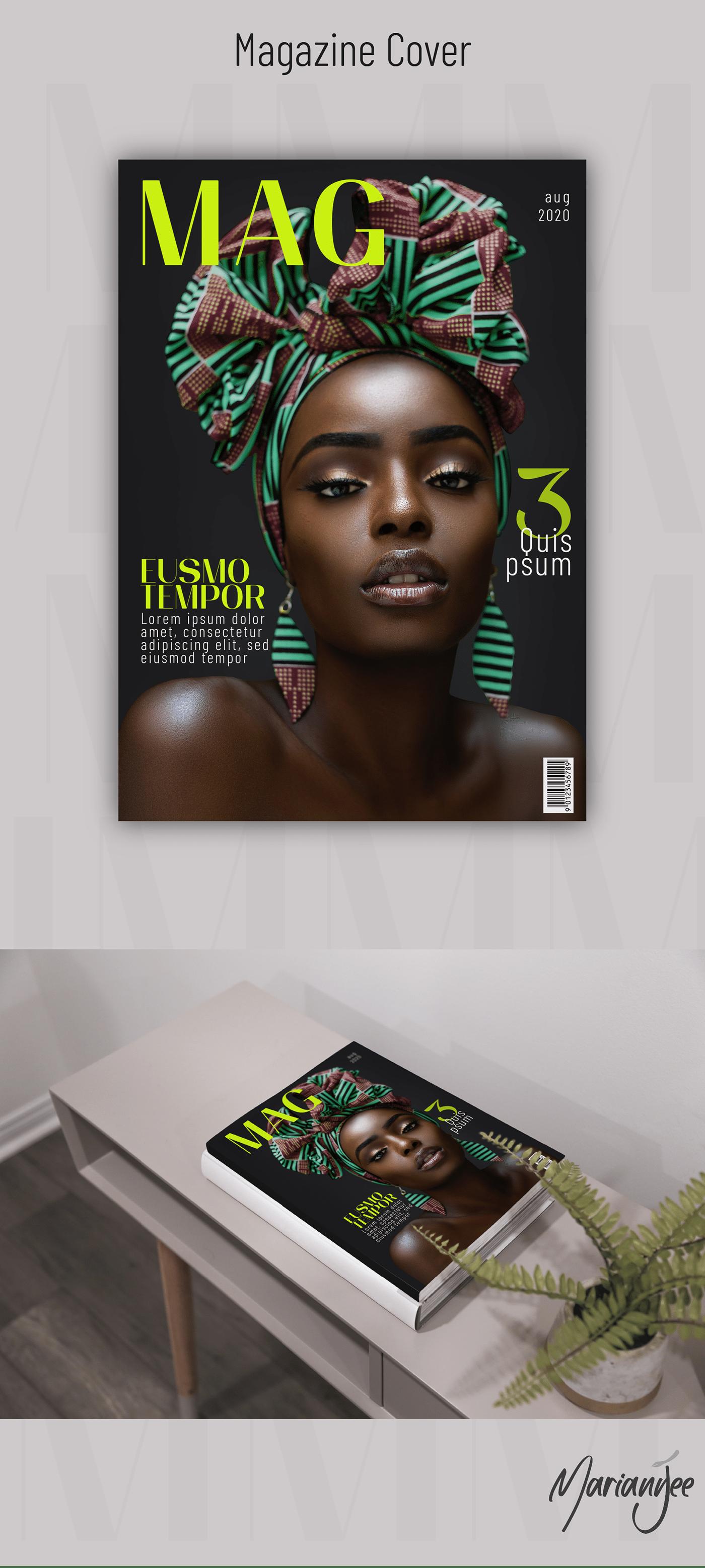 精緻的22套時尚雜誌封面欣賞