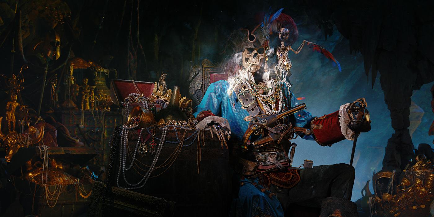 art blender CGI Character digital3d Fieroanimals MarvelousDesigner pirate Render smoke