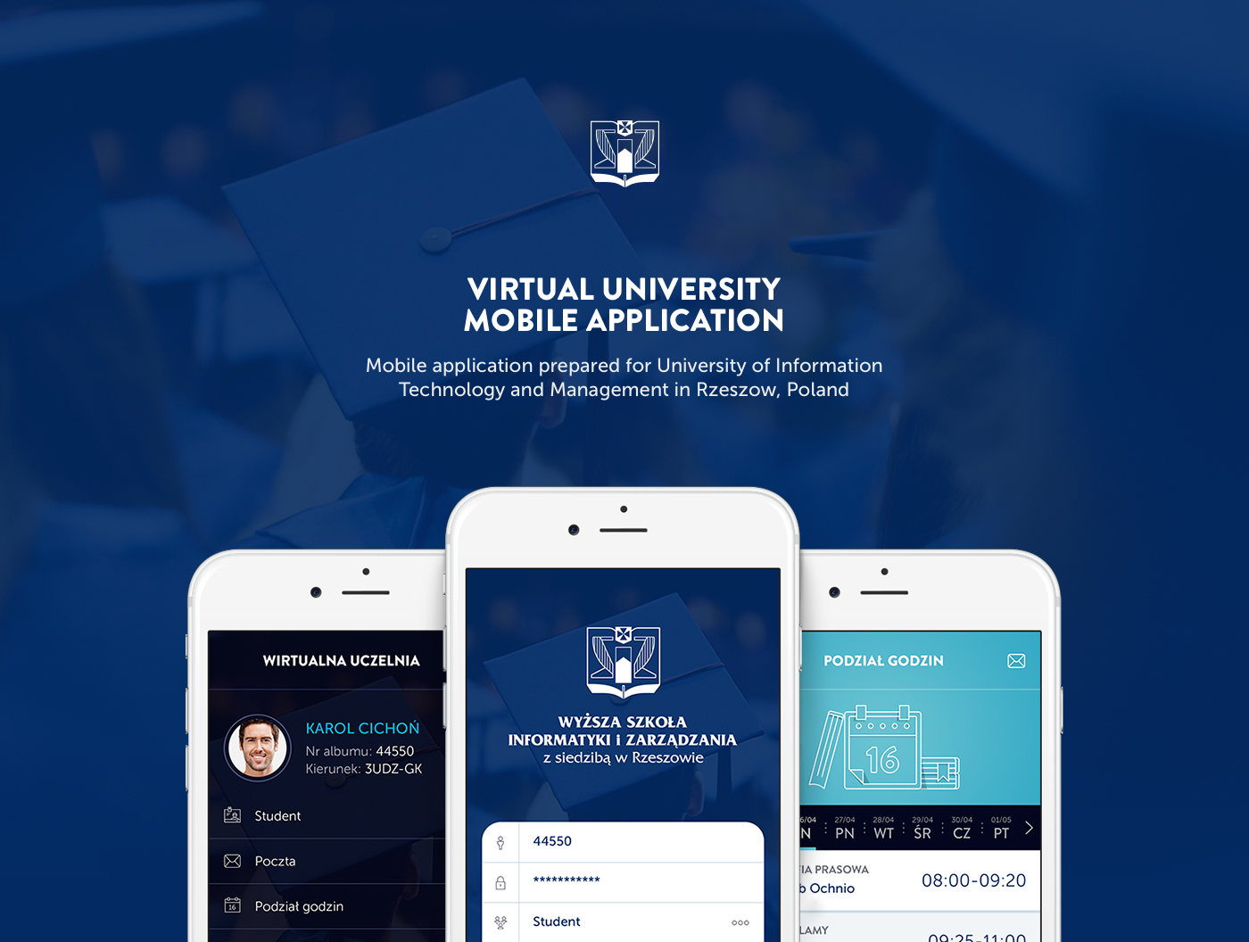 mobile,application,ios,phone,iphone,Virtual University,virtual,University,University of Information,technology and management,in Rzeszow,poland,cichonkarol.com,cichonkarol