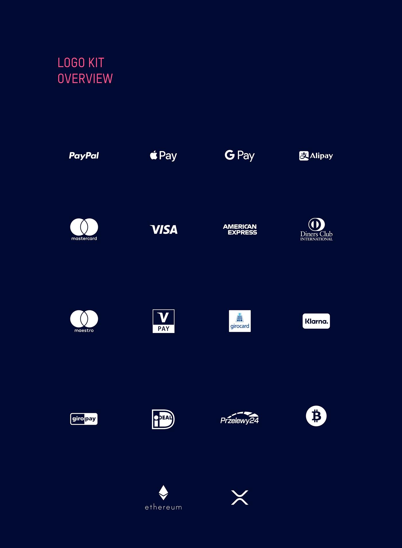 download Ecommerce eWallet free freebie icons kit logos mobile payment