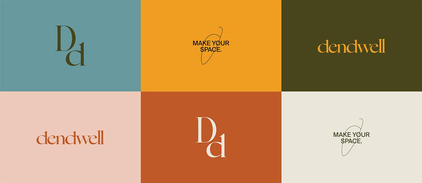 architecture brand brand identity branding  business card design graphic design  interior design  Letterform Logotype