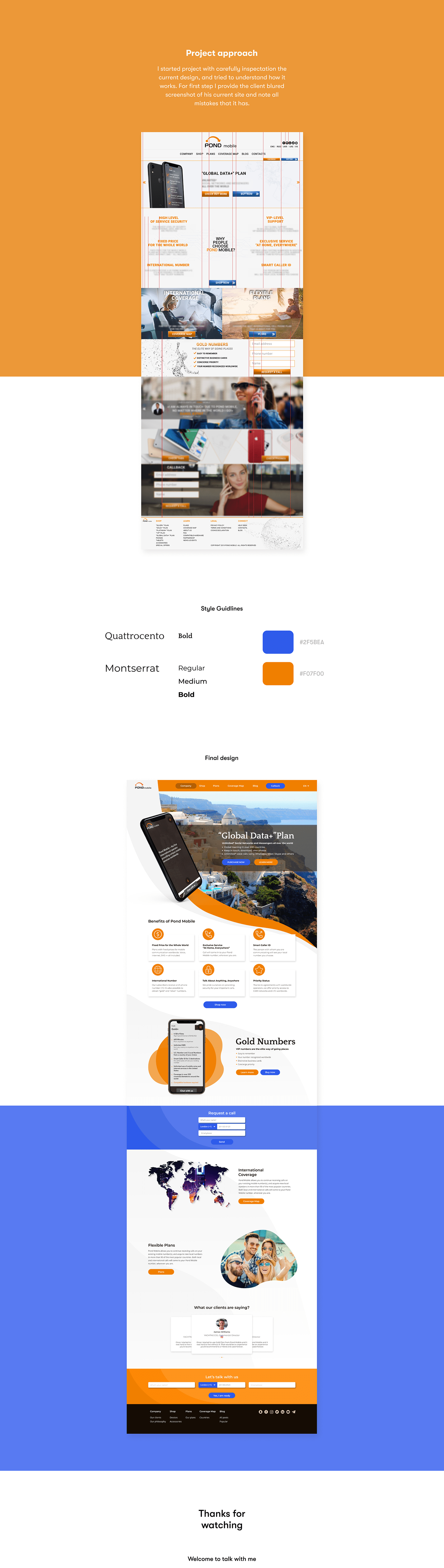 concept landing redesign service Travel UI ux Web Design