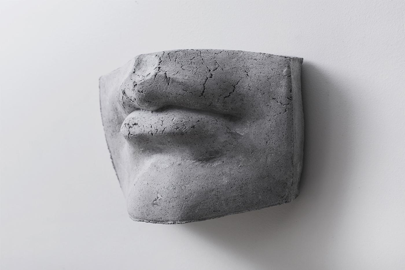 branding  logo sculpture identity Logotype escher handmade
