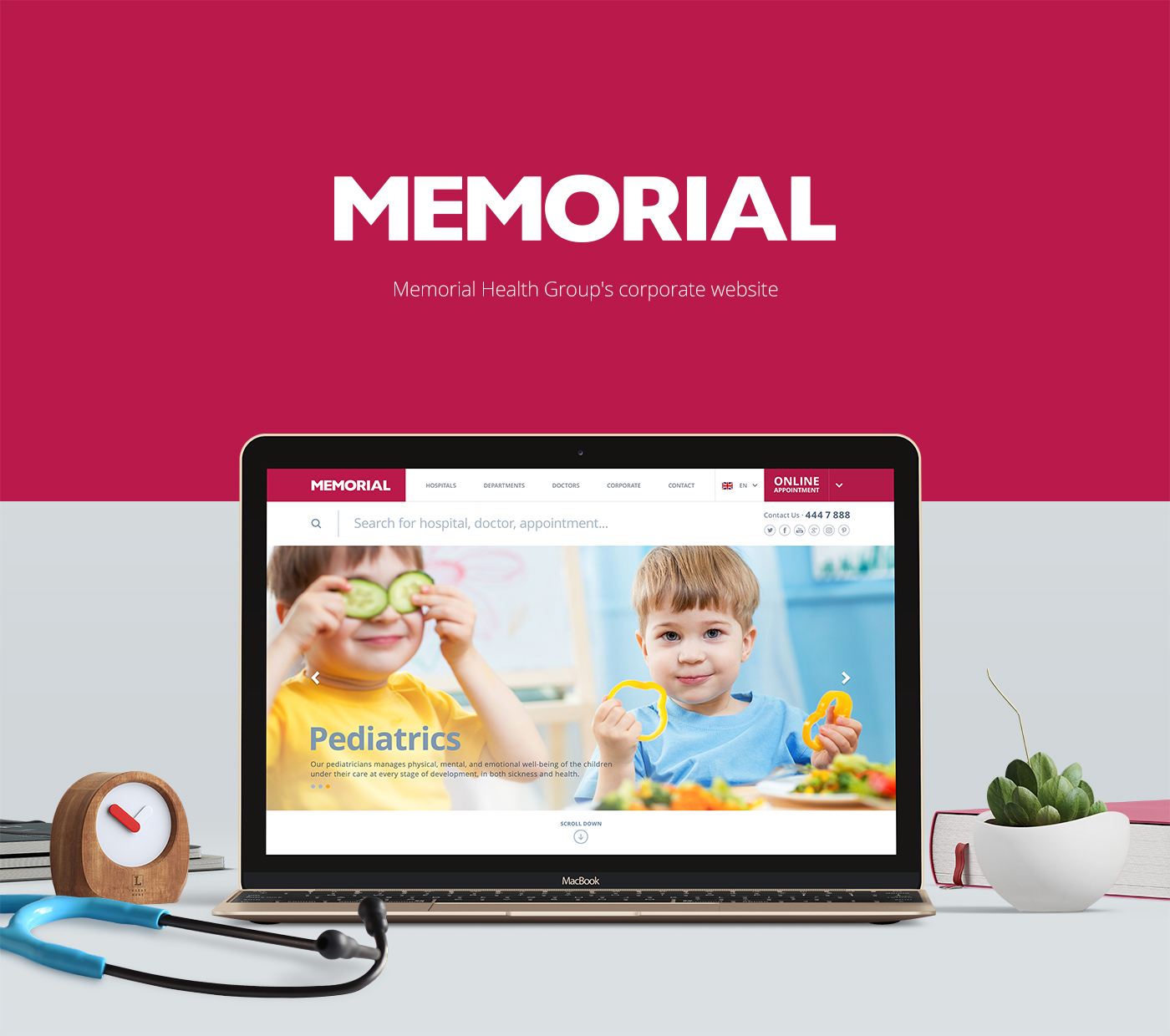 UI ux Responsive Website