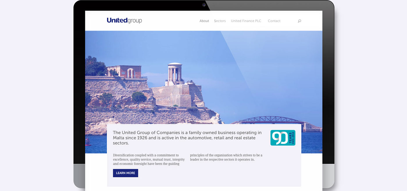 ux UI Web Design  web development  malta group Website Responsive development design