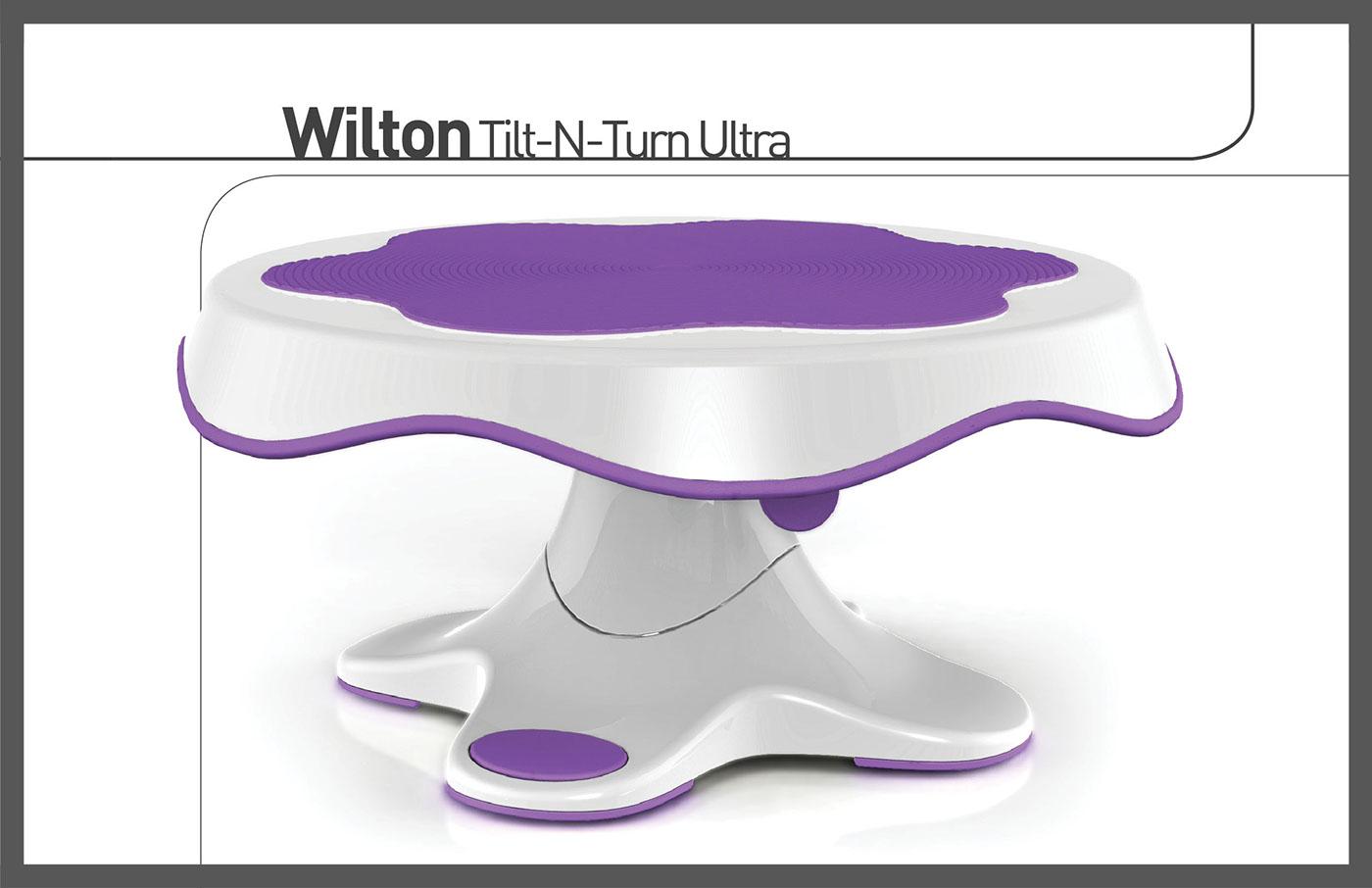 Wilton Tilting Turn Table On Behance