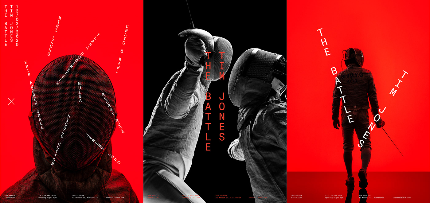 battle cancer Collaboration fencing Imagery Layout Photography  purpose sydney Typeface