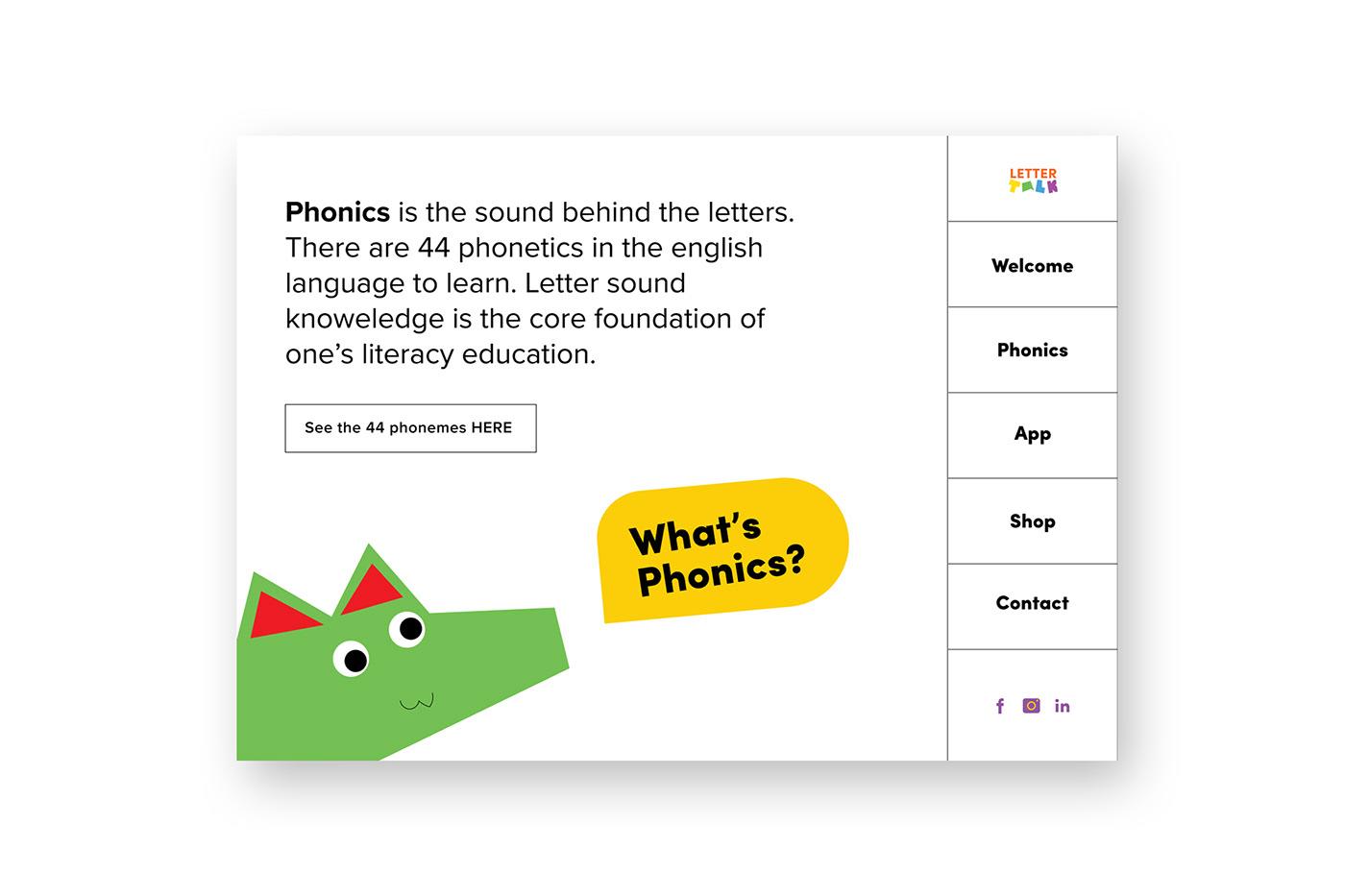 branding  graphic design  ILLUSTRATION  phonics educational tablet design