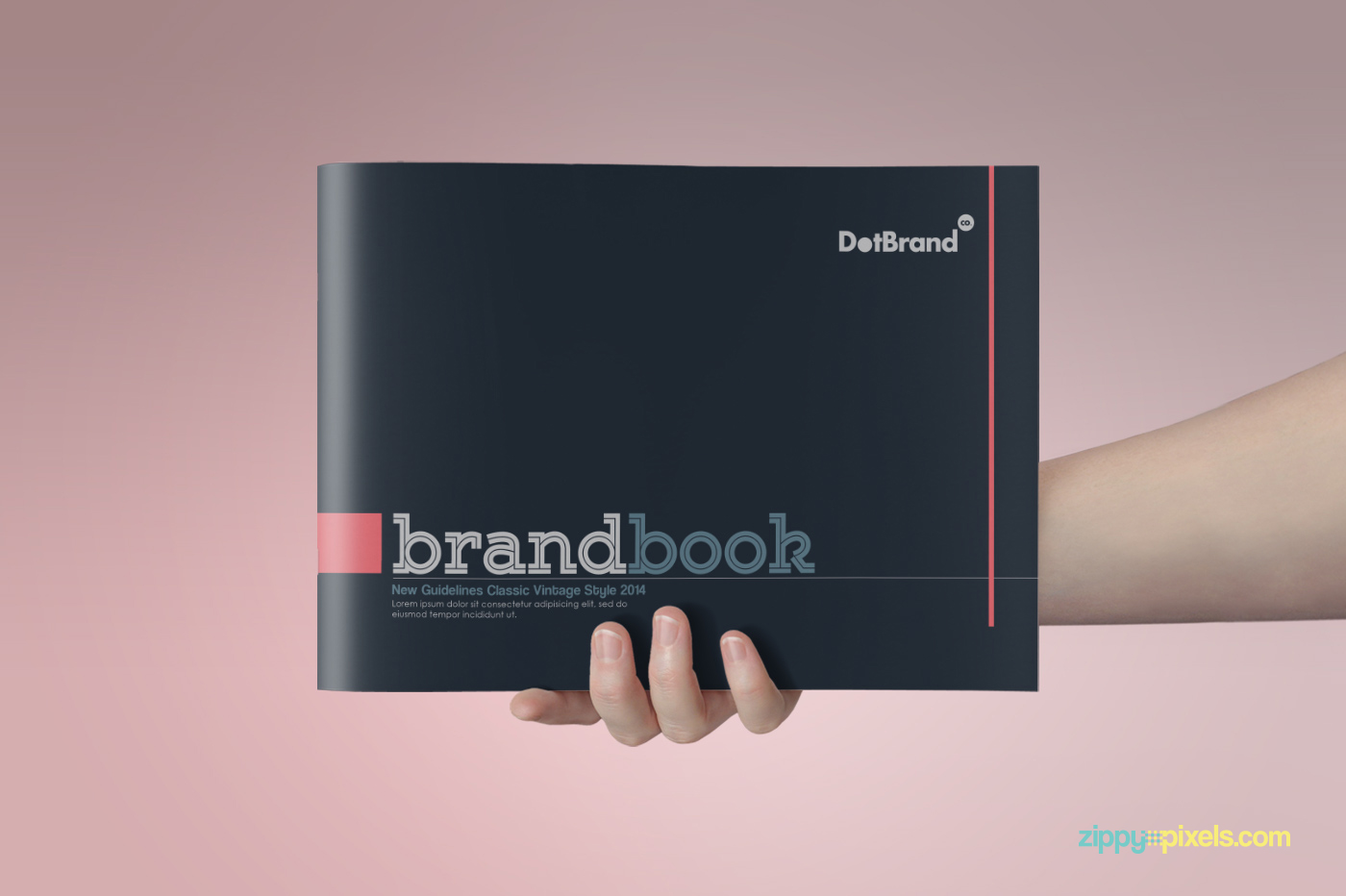 brand book template free download