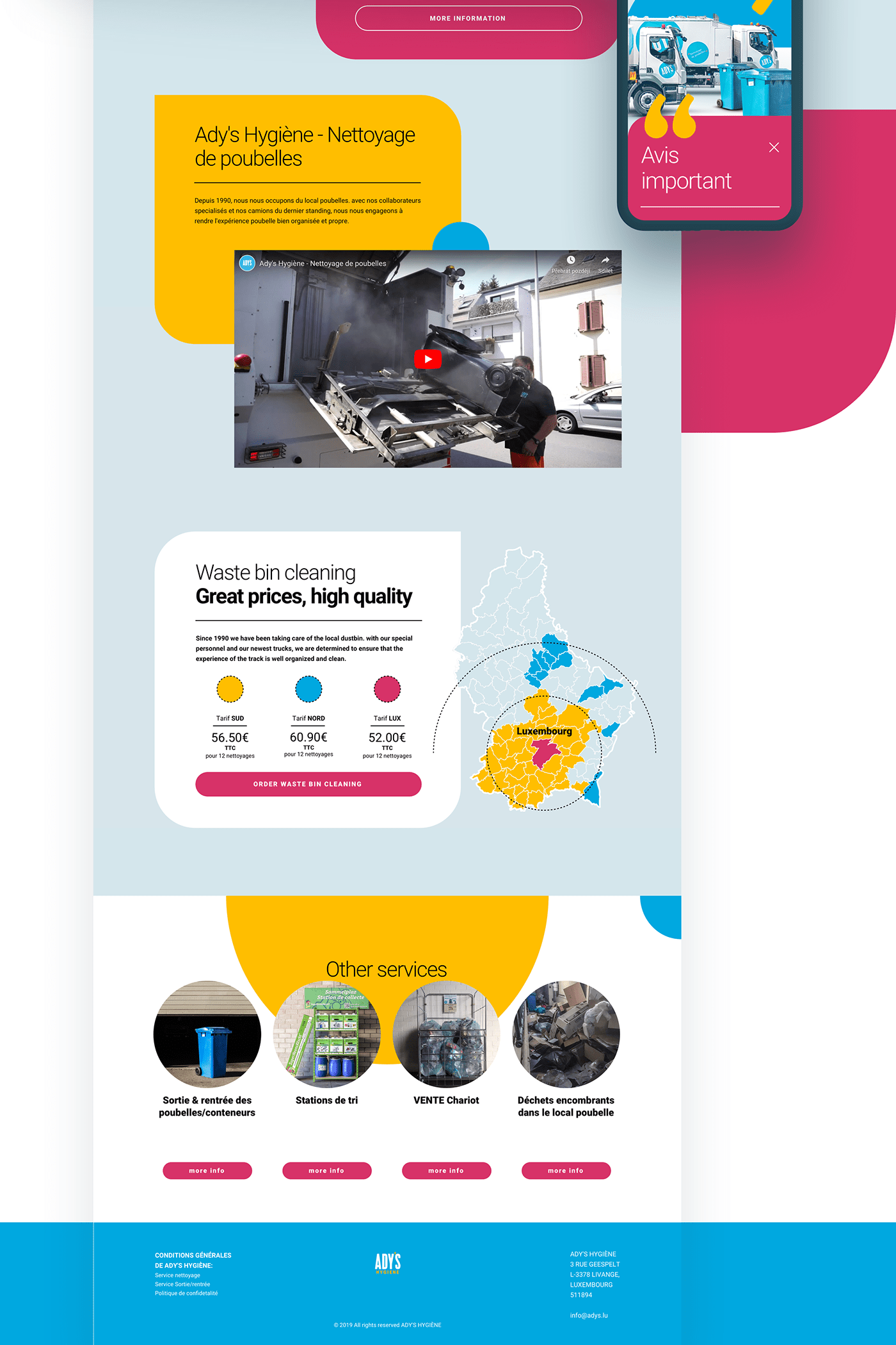 cms luxembourg squarespace UI ux Web Webdesign