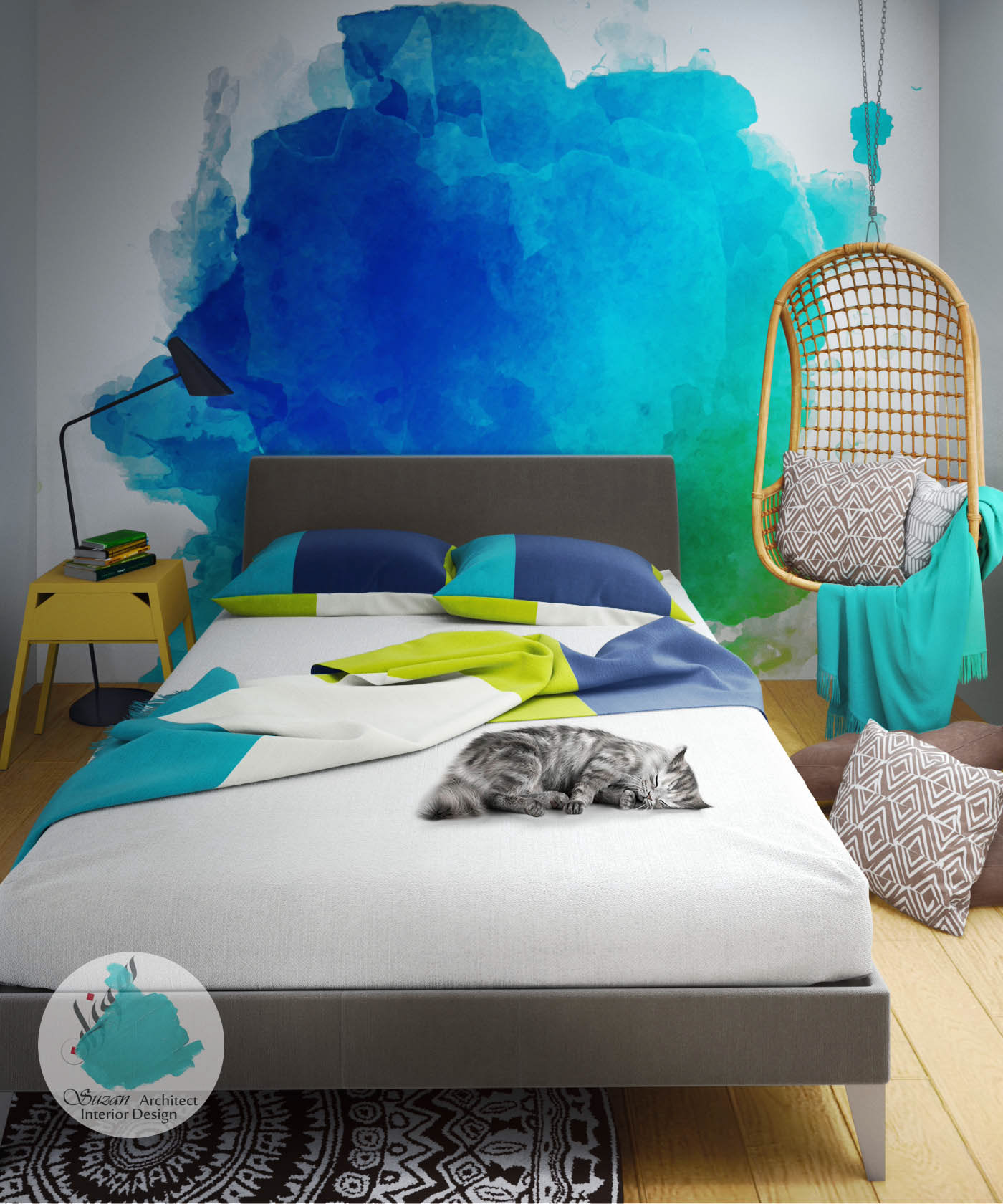 豐富的22套房間顏色搭配欣賞