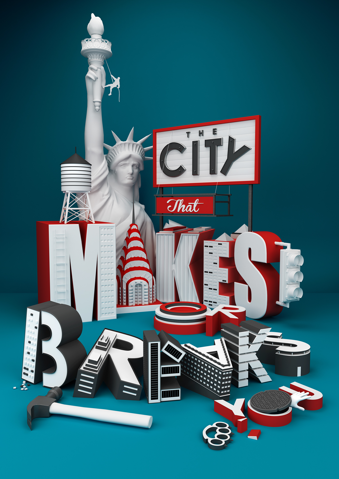The City That Makes Or Breaks You On Behance