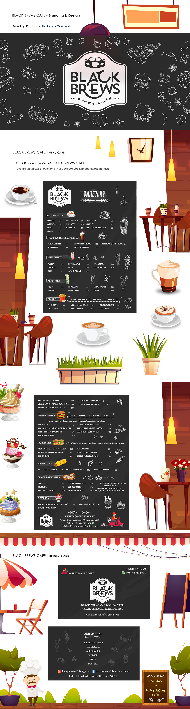 art branding  cafe design Food  graphics idea Illustrator restuarant taste