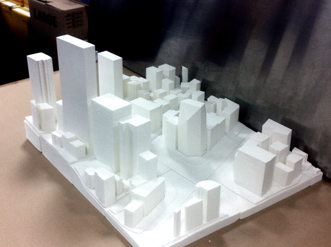 3D Printed Architectural Model on Behance
