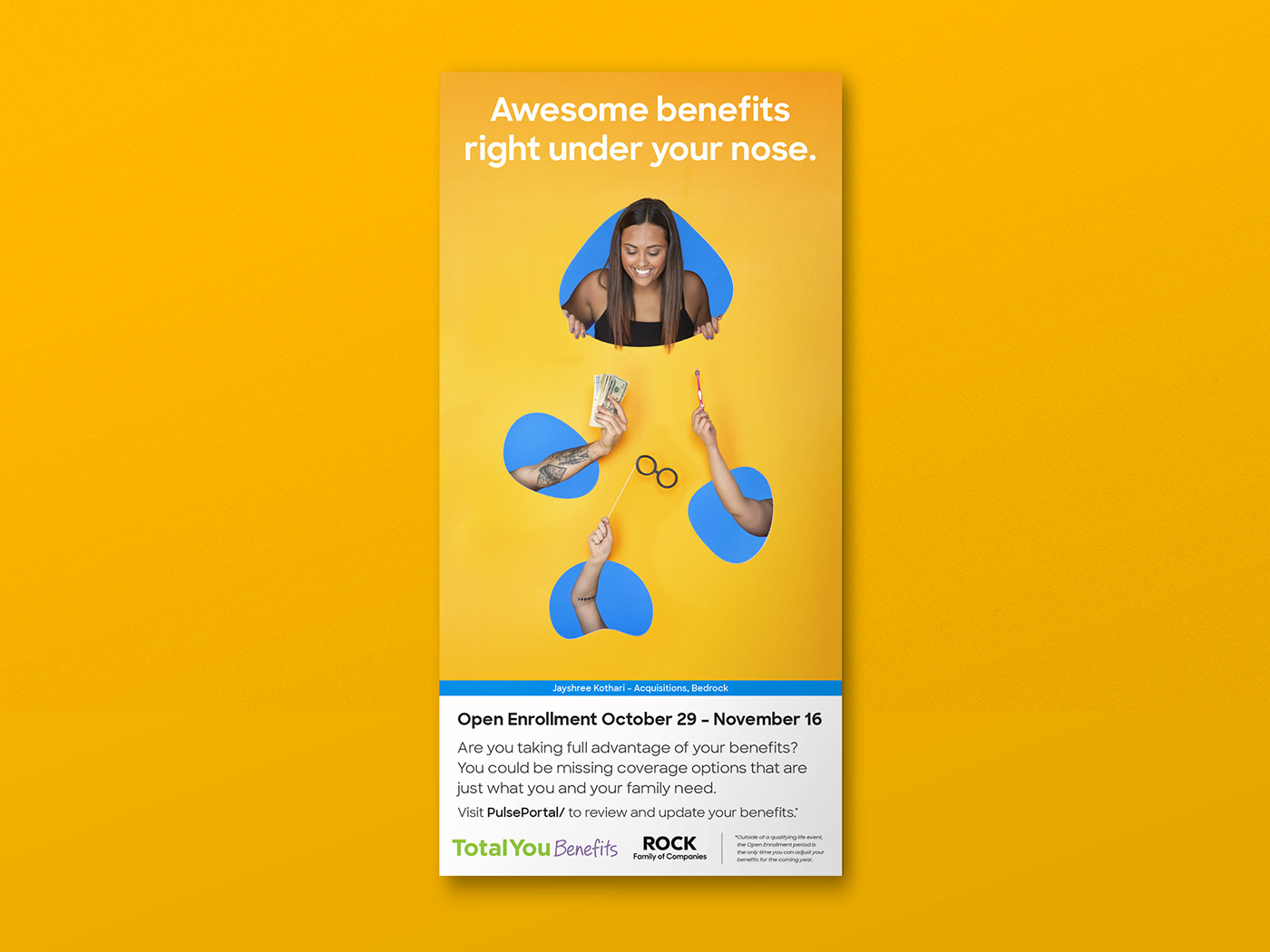 benefits Health campaign colorful photoshoot Email poster Wellness design simple