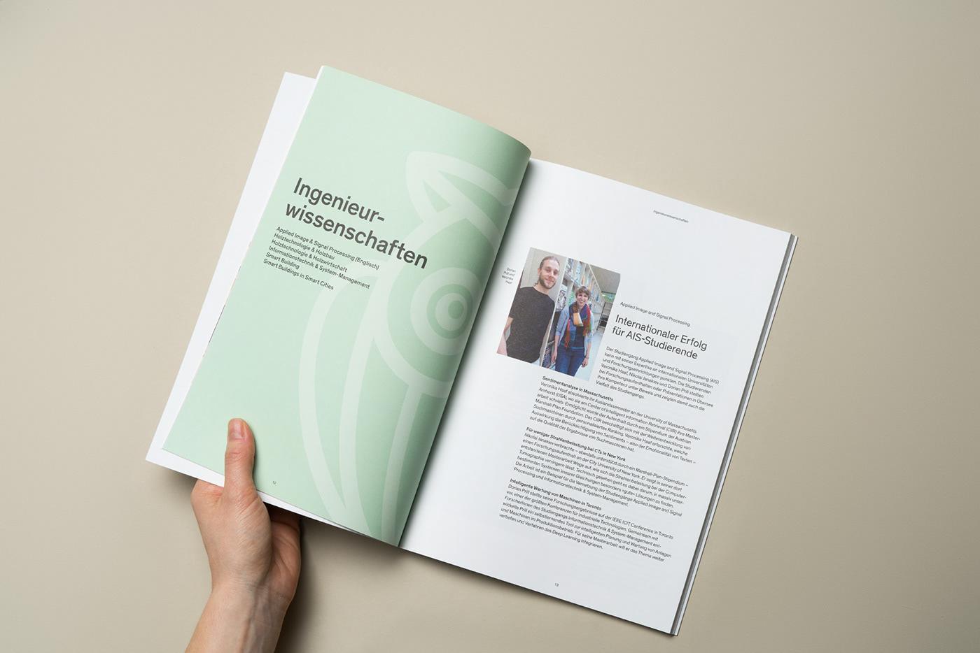 wirsindartisten AnnualReport graphicdesign printdesign