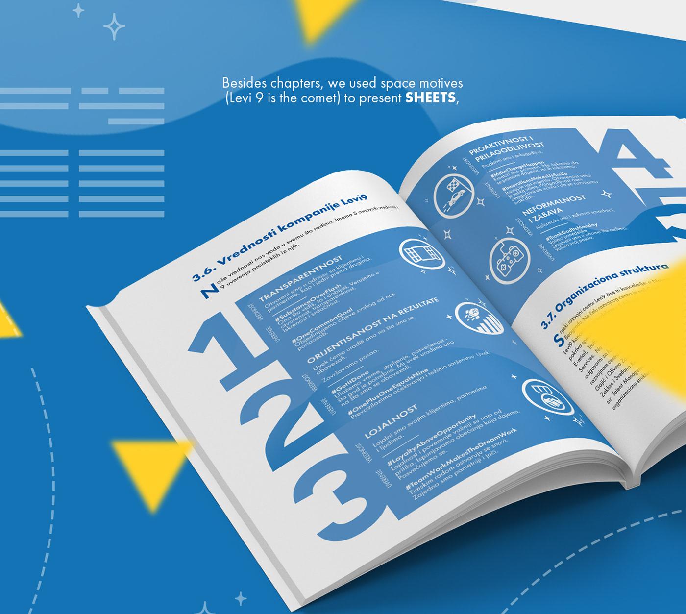 Book Layout graphic design  ILLUSTRATION  Handbook IT digial art Guide