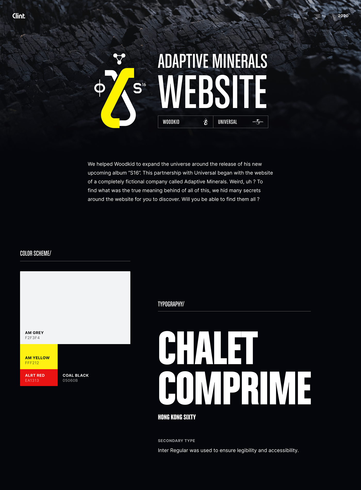 Experience game music Website