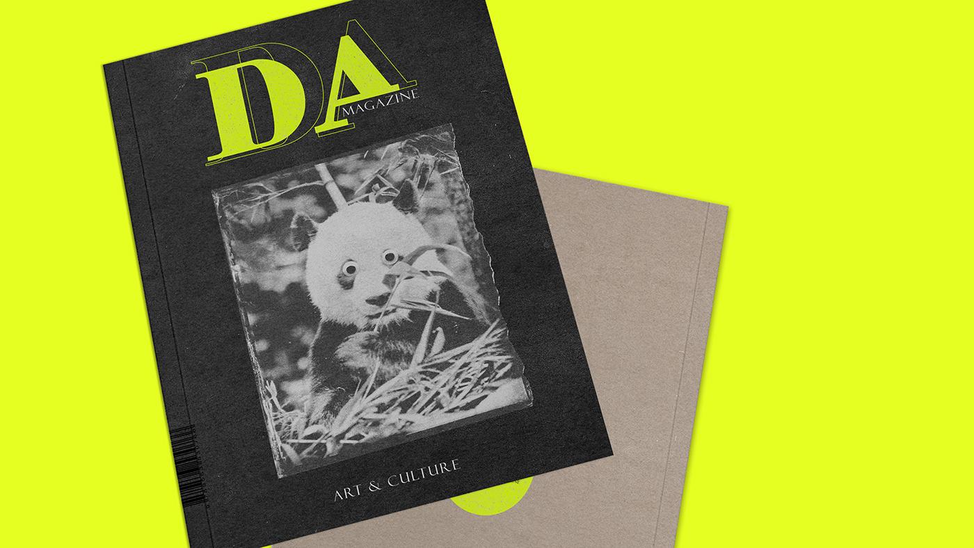 art artmagazine book branding  collage culture editorialdesign neon