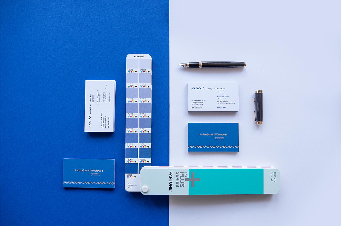 lawyers minimal blue elegant branding  brand lawyer