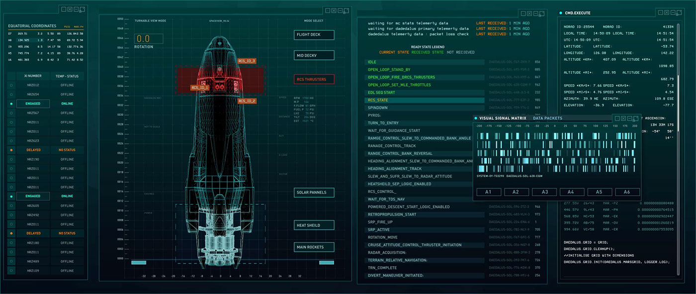 UI Film   tv screen graphics FUI Fictional Interfaces user interface film ui