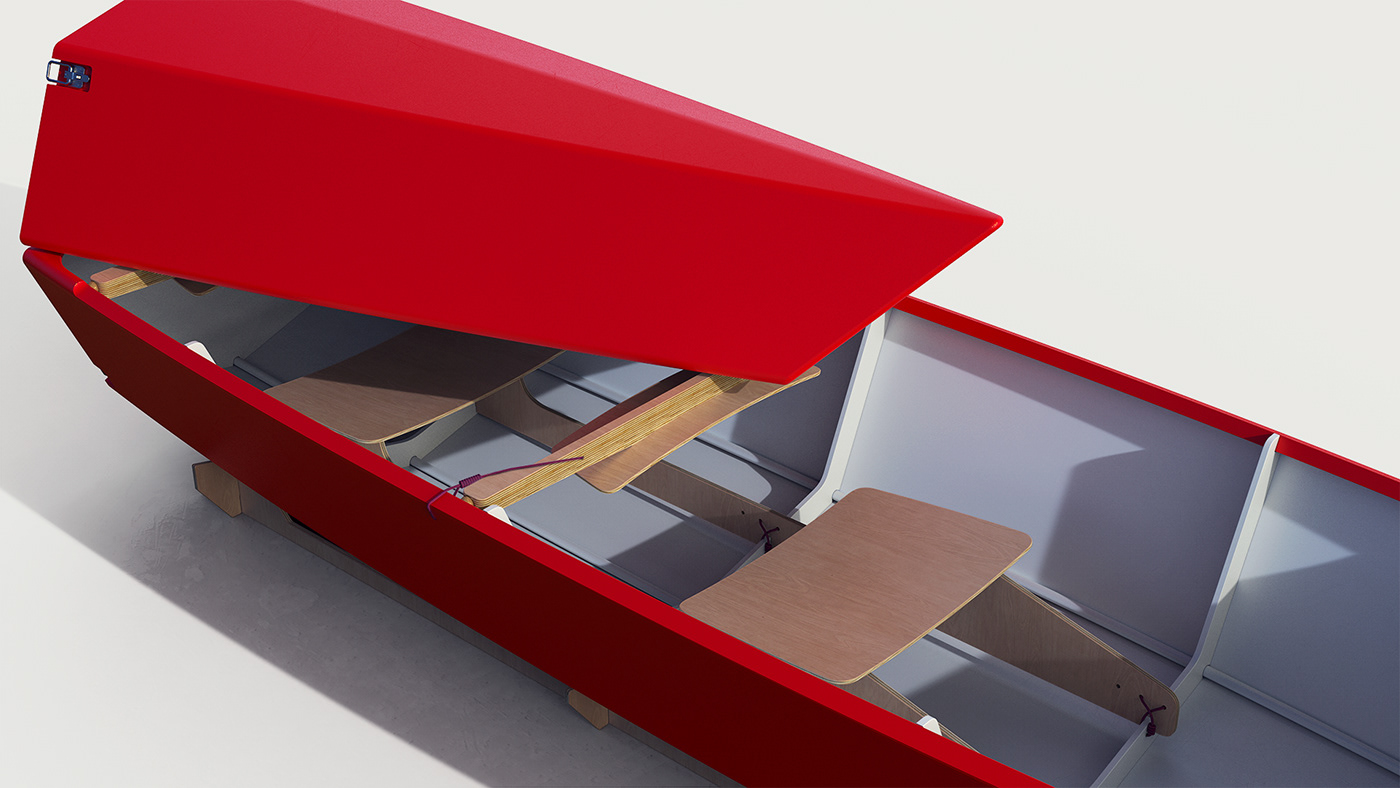 boat design industrial design  kayak modern product design  Render wood Vehicle watercraft