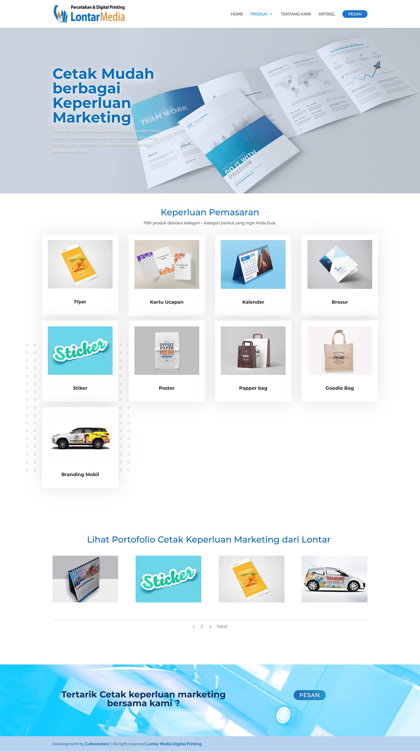 Web Design  web development  Printing wordpress design identity ux Website