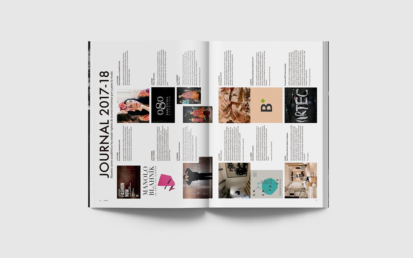 Diseño editorial moda revista editorial barreira bies