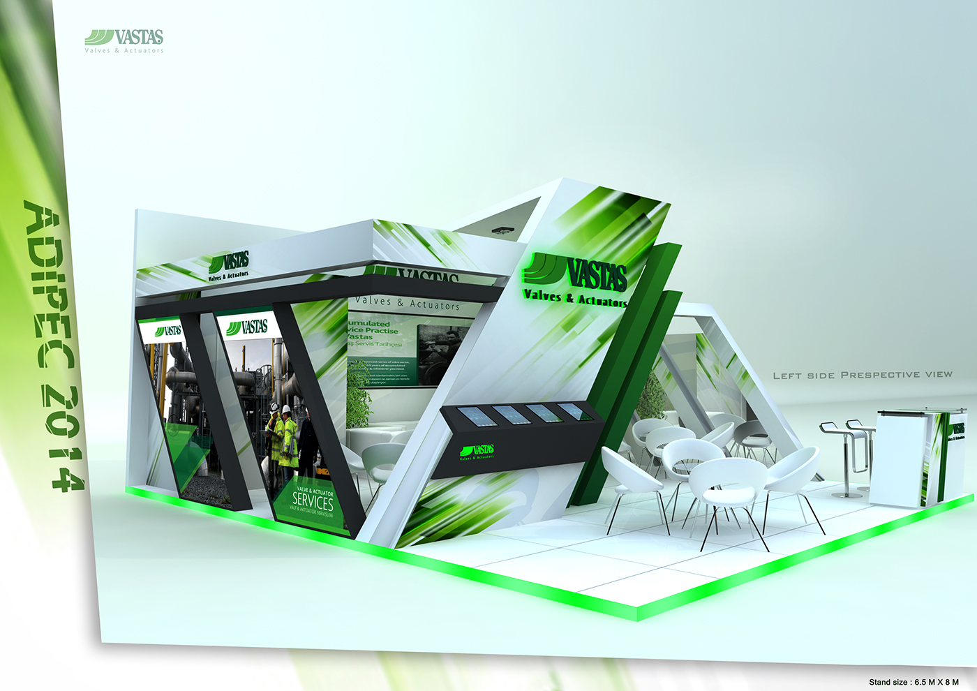 Exhibition Stand Design Tool : Adipec exhibition stand design on behance