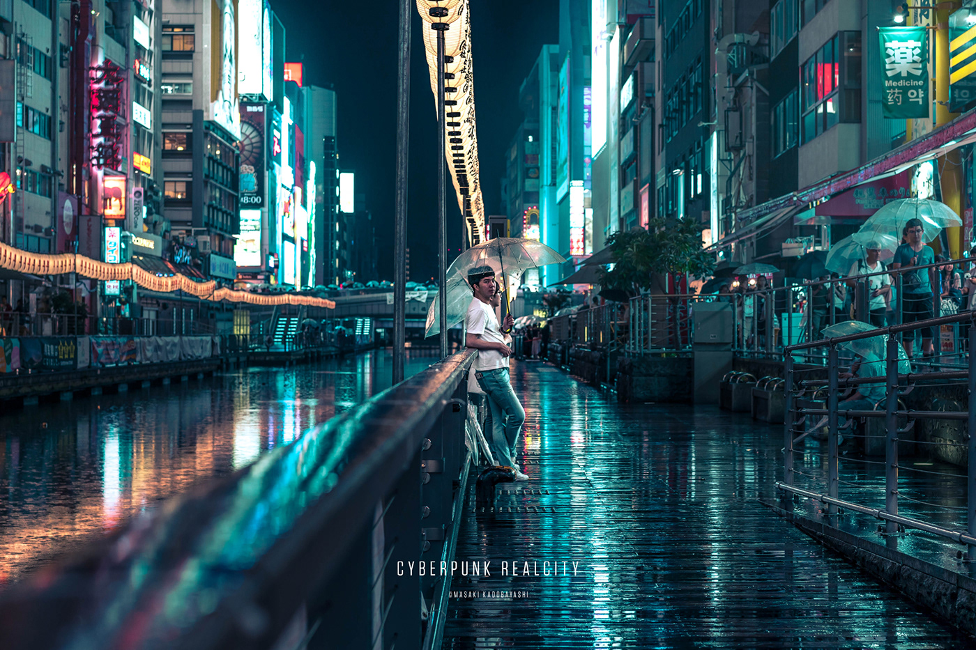 sci-fi Photography  japan night blade runner neon futuristic city Emotional cyber