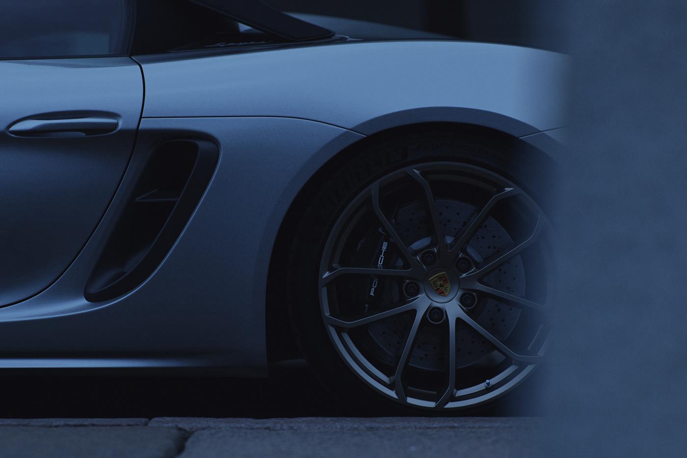 3D automotive   car CGI corona MegaScans Porsche Quixel Render rendering