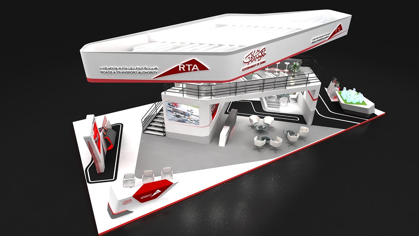 Exhibition Stand Jobs Dubai : Rta dubai stand on behance
