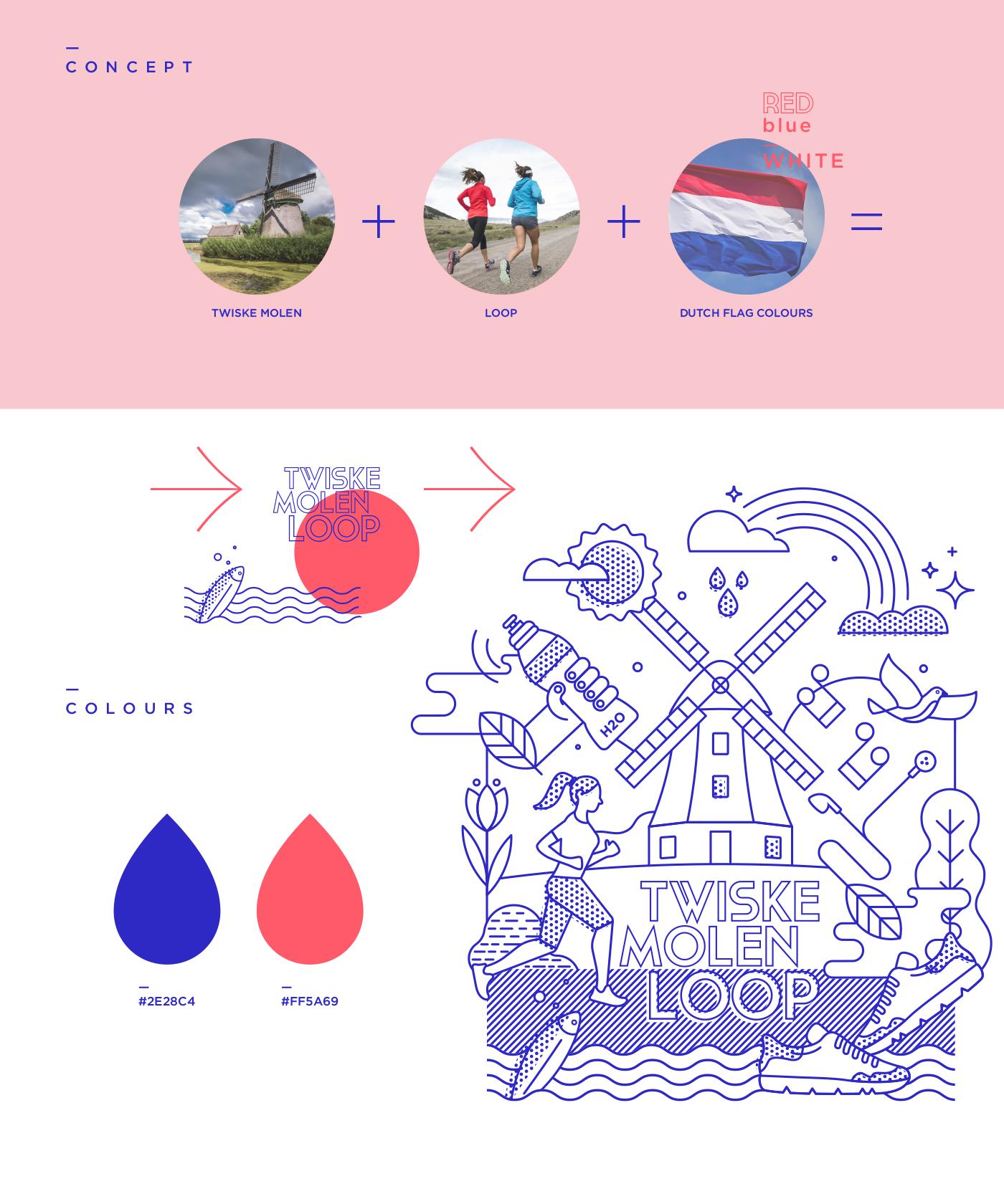 Concept + Colour scheme
