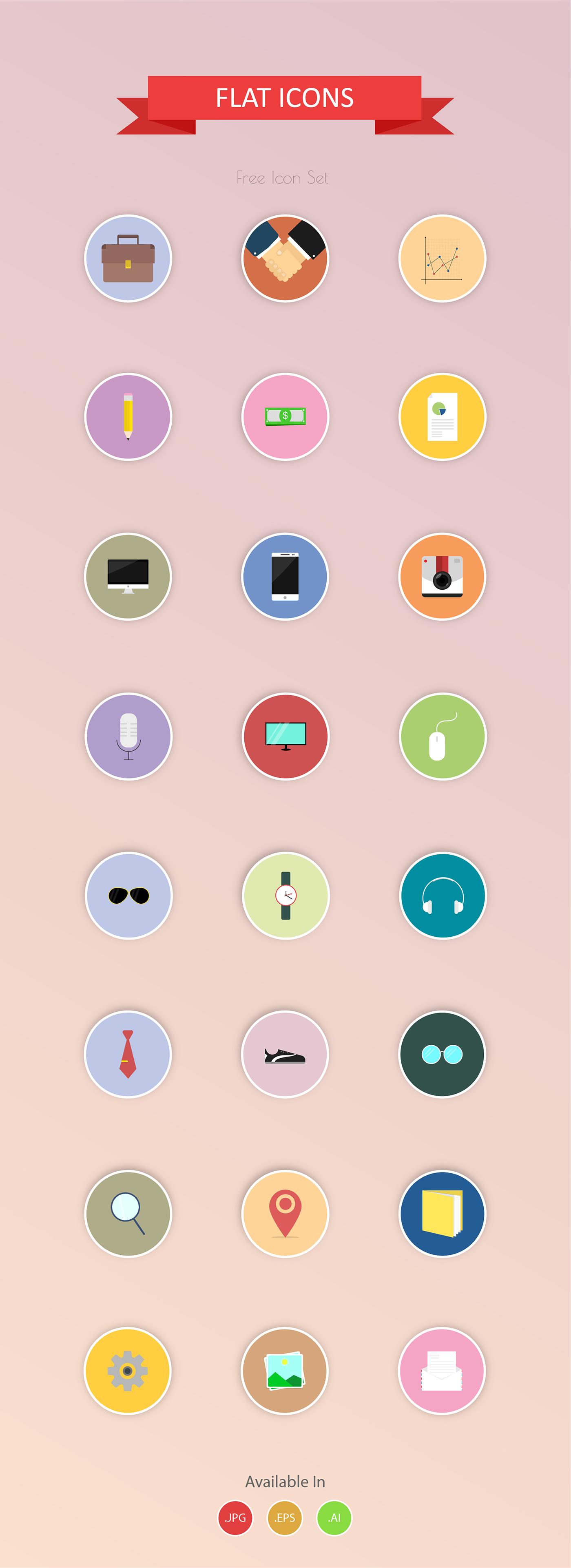 vector,Illustrator,icon design ,flat icons,free use,business,Style,Fashion ,UI/UX,media
