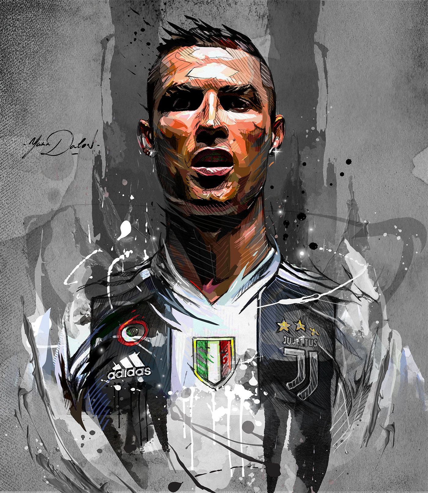 Cristiano Ronaldo- Juventus De Turin. On Behance