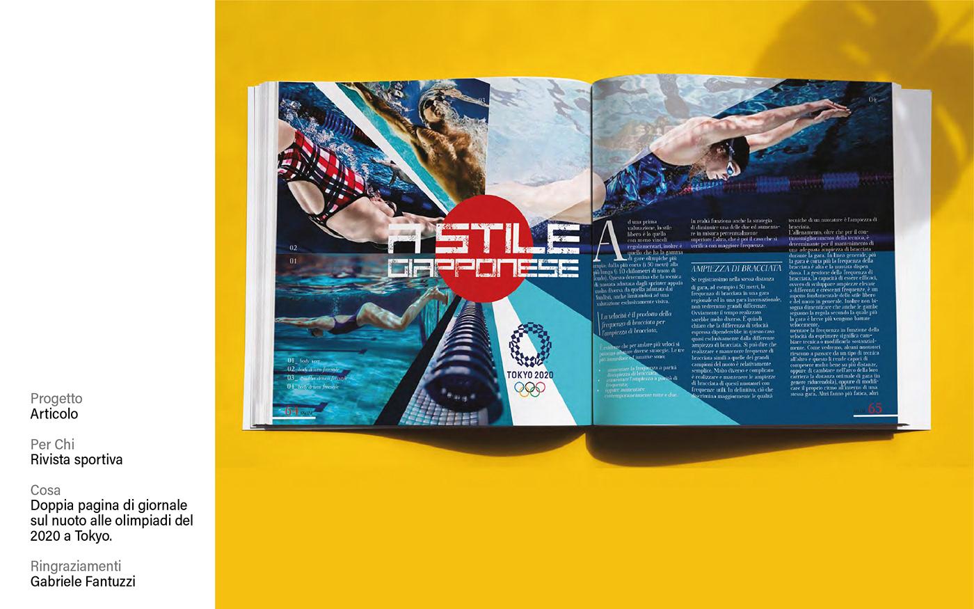 Advertising  editorial design  graphic design  magazine poster