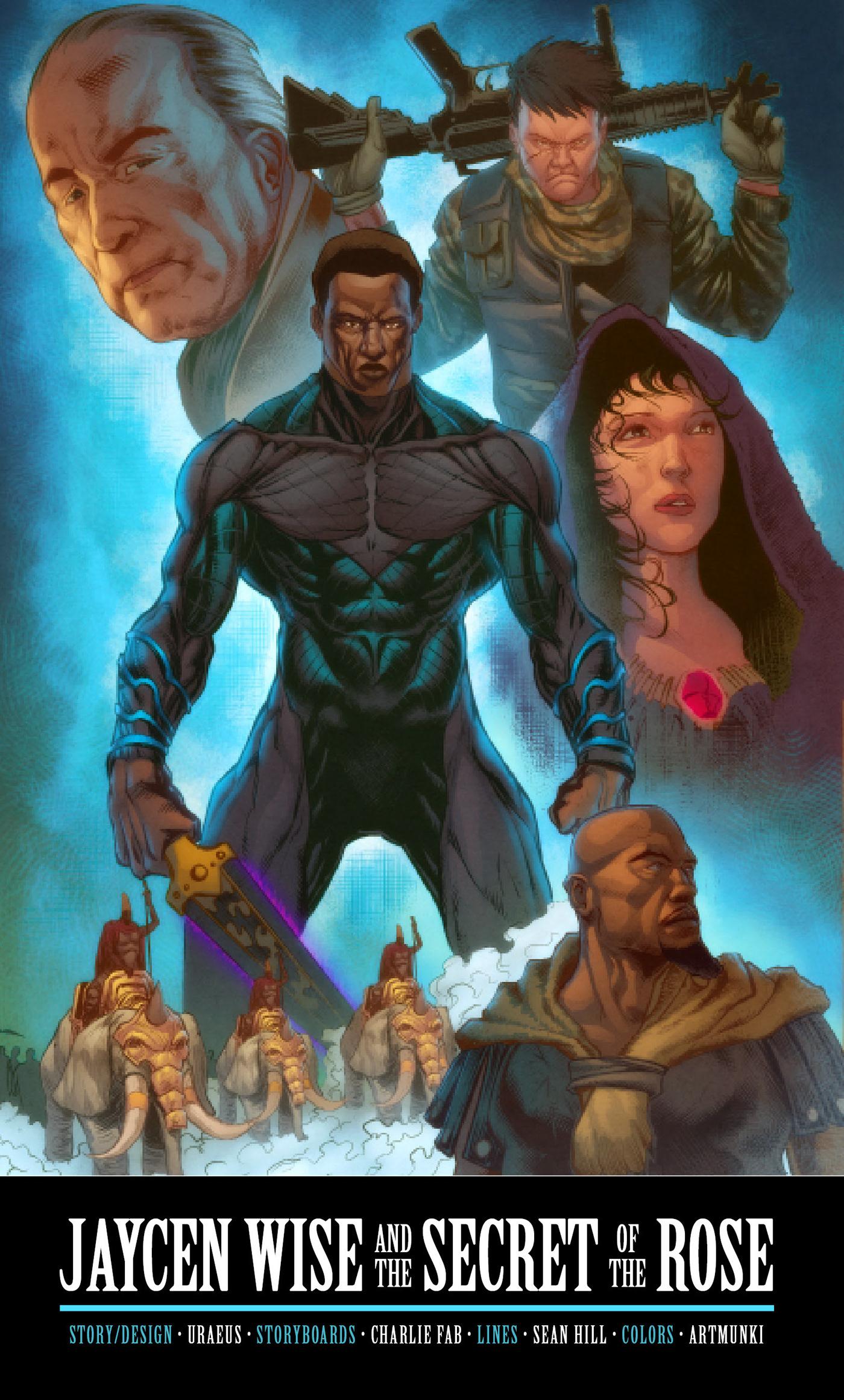 jaycen wise adventure comic comics Hero superheroes
