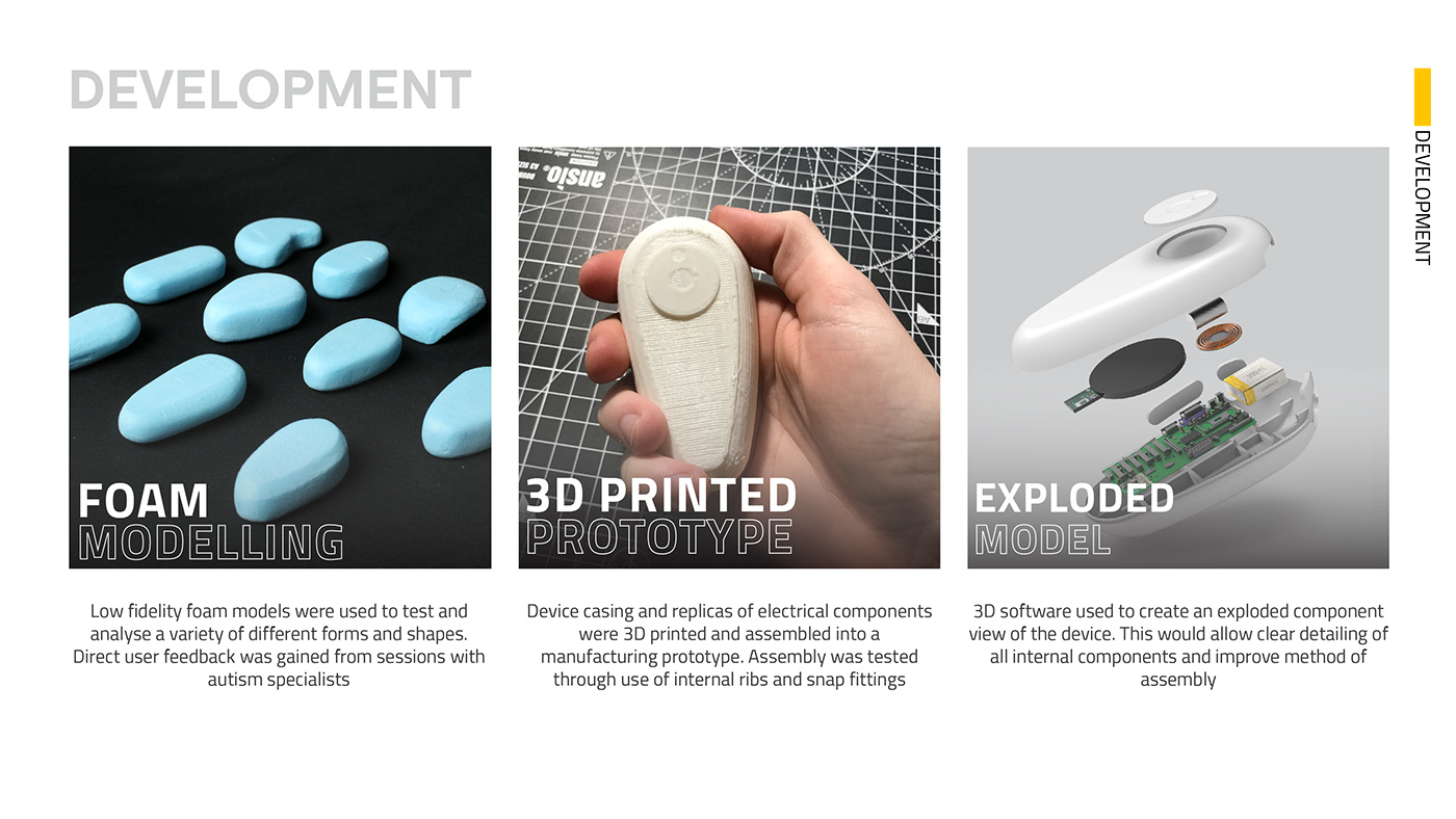 autism industrial design  medical mental health product design  wellbeing