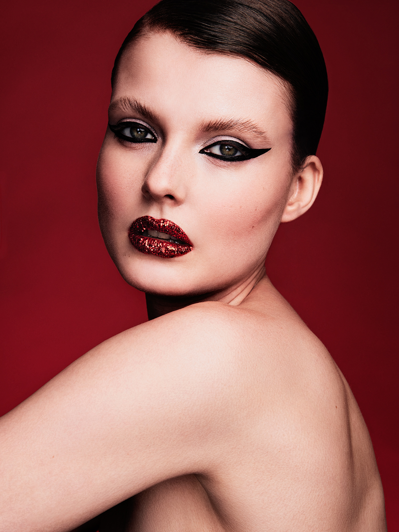 beauty beautyphotography makeup philippjelenska red studiophotography