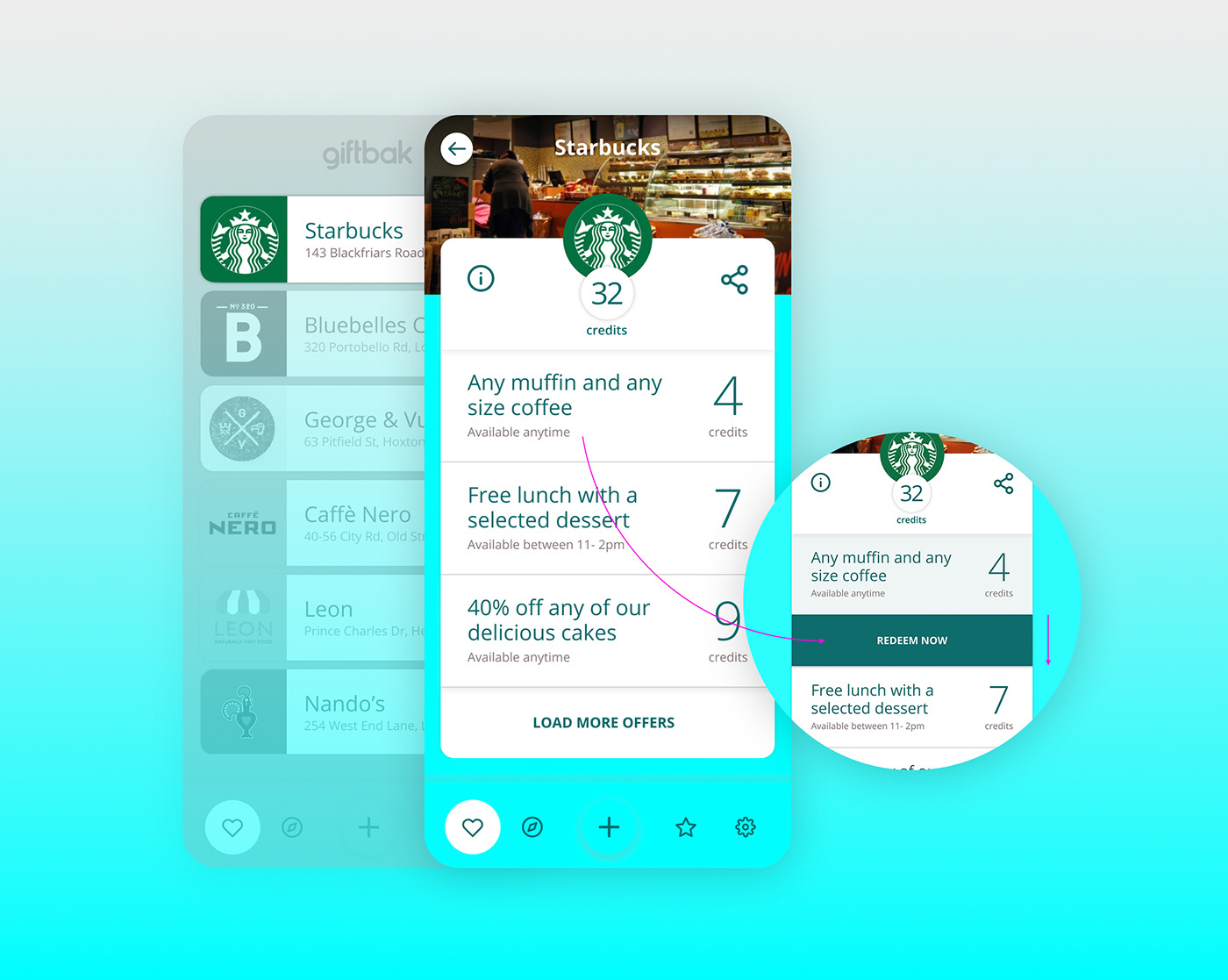 app design ios loyalty mobile Native start-up ui design ux visual design