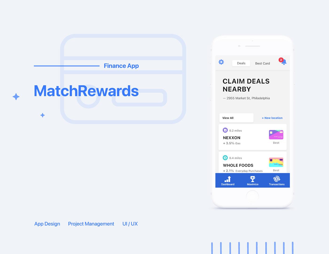 app app design credit credit card Deals finance finance app rewards Fintech credit card app