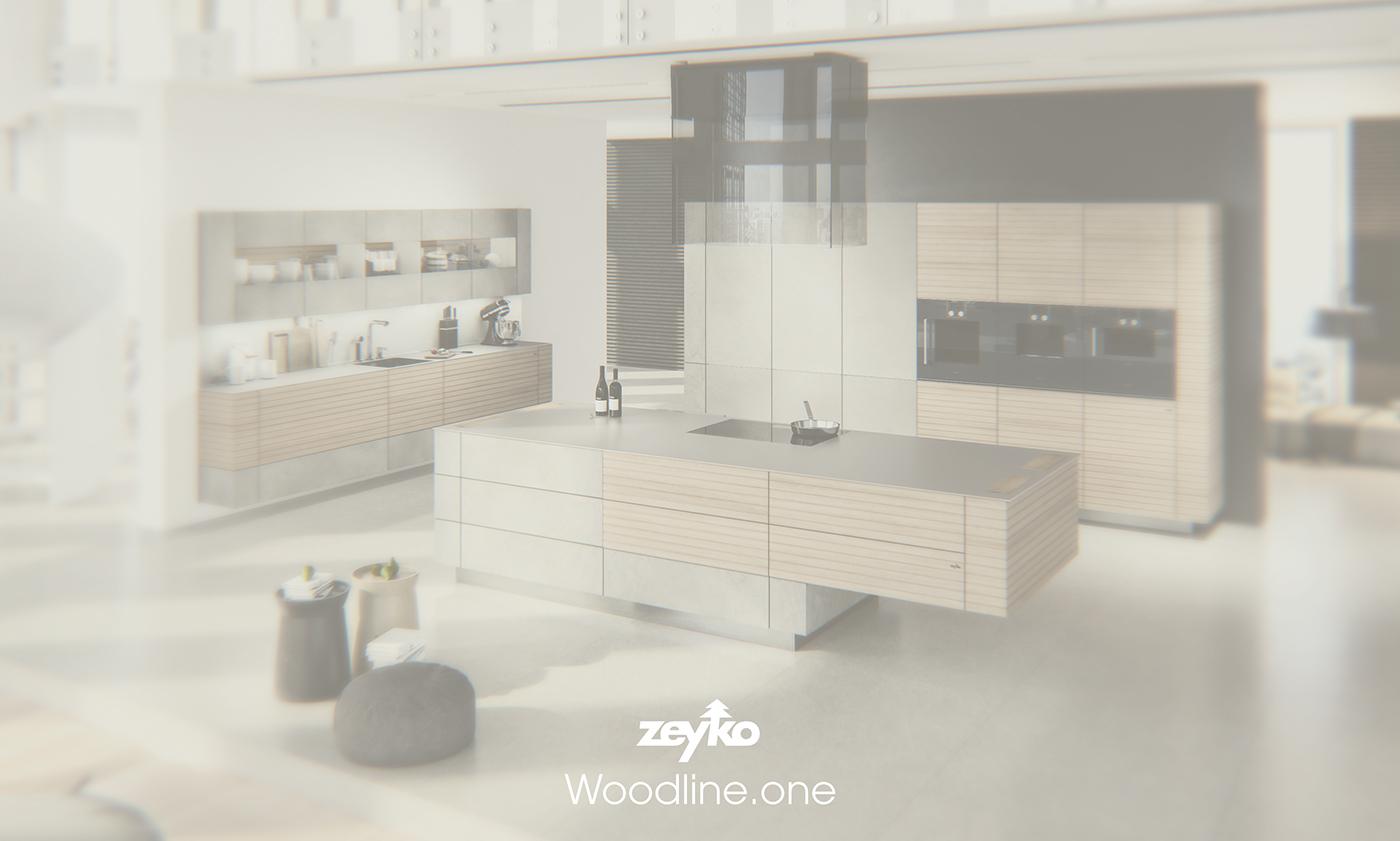 Zeyko Woodline One On Behance