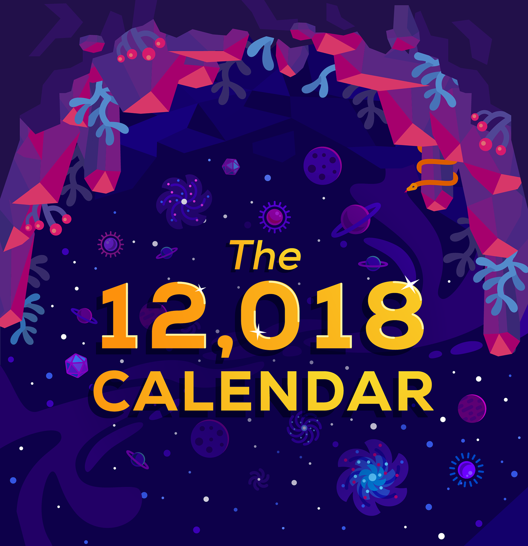 calendar ILLUSTRATION  kurzgesagt youtube In a Nutshell