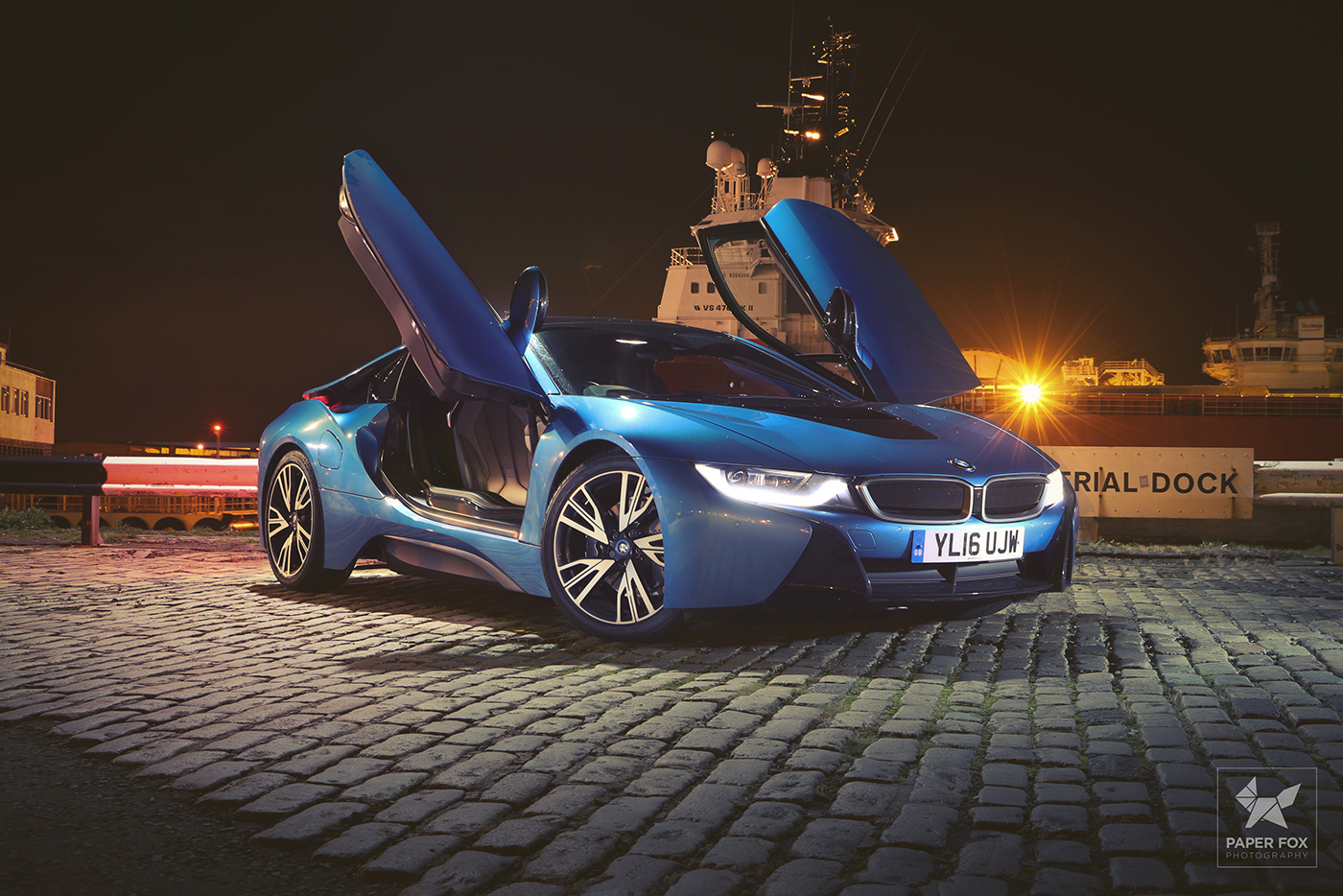 Bmw I8 Night Shots On Behance