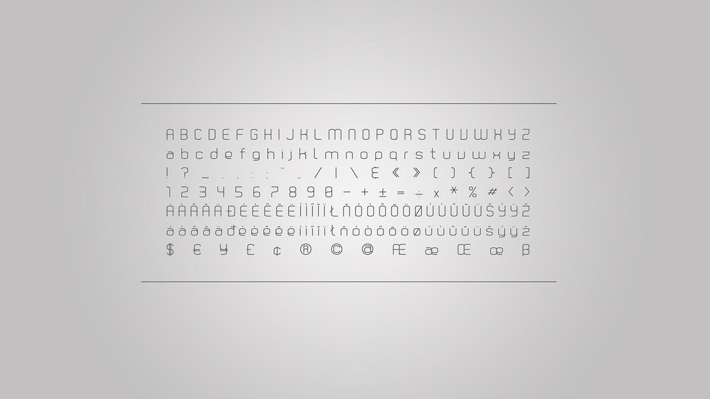 buitk  typeface  font  type  klar  mania  design geometric sans serif modern Header Display bauhaus